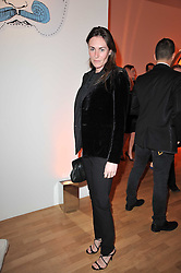 LAETITIA CASH at the TOD'S Art Plus Drama Party at the Whitechapel Gallery, London on 24th March 2011.