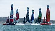 SailGP race start, San Francisco.
