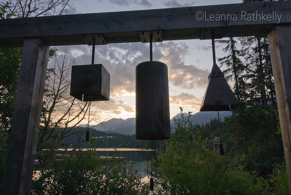 The newest park in Whistler, Alta Lake Park, is located on the lake and features art works along the water path.