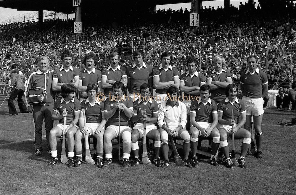 03/09/1978<br /> 09/03/1978<br /> 3 September 1978<br /> All-Ireland Hurling Final: Cork v Kilkenny at Croke Park, Dublin.<br /> The Cork team.