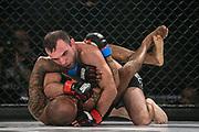 MMA: GMC, Hamburg, 12.10.2019<br /> Fliegengewicht, Titelkampf: Andre Colazingari (ITA) - Dimitar Kostov (GER)<br /> © Torsten Helmke