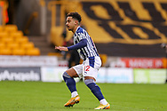 Goal 0-1 Matheus Pereira (12) of West Bromwich Albion scores from the penalty spot and celebrates during the Premier League match between Wolverhampton Wanderers and West Bromwich Albion at Molineux, Wolverhampton, England on 16 January 2021.