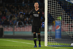 October 28, 2018 - Naples, Naples, Italy - Robin Olsen of AS Roma during the Serie A TIM match between SSC Napoli and AS Roma at Stadio San Paolo Naples Italy on 28 October 2018. (Credit Image: © Franco Romano/NurPhoto via ZUMA Press)