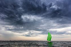 Second day of the Delta Lloyd North Sea Regatta, Scheveningen, the Netherlands, Saterday, 7th June 2014.