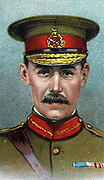 General Archibald James Murray (1850-1945) British soldier.  In First Wolrd War he was Commander of the Egyptian Expeditionary Force 1916-1917.  Chromolithograph.