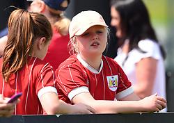 Supporters at Stoke Gifford Stadium - Mandatory by-line: Paul Knight/JMP - 20/05/2018 - FOOTBALL - Stoke Gifford Stadium - Bristol, England - Bristol City Women v Arsenal Ladies - FA Women's Super League 1
