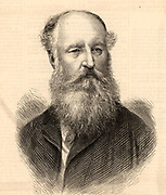 Frederick Arrow (d1875) English merchant navy commander, Deputy Master of Trinity House, the authority responsible for all lighthouses in the British Isles and Gibraltar. Engraving from 'The Illustrated London News' (London, 31 July 1875).