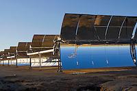 Solar Energy Panels in the Mojave Desert, California