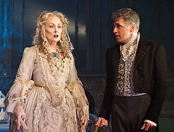 Great Expectations<br /> by Charles Dickens<br /> <br /> adapted by Jo Clifford<br /> directed by Graham McLaren<br /> at The Vaudeville Theatre, London, Great Britain, <br /> press photocall<br /> 4th February 2013 <br /> <br /> Jack Ellis as Jaggers<br /> Chris Ellison as Magwitch<br /> Paula Wilcox as Miss Havisham<br /> Paul Nivison as Adult Pip <br /> Grace Rowe as Estella<br /> Taylor Jay-Davies as Young Pip <br /> Katy Allen as Camilla Pocket<br /> Gareth Glen as Cousin Raymond<br /> Josh Elwell as Joe Gargery <br /> Isabelle Joss as Mrs Joe<br /> Suzanne Robertson as Biddy <br /> James Vaughan as Wopsle<br /> Rhys Warrington as Herbert Pocket <br /> <br /> Photograph by Elliott Franks