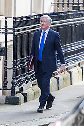 Downing Street, London, April 12th 2016. Defence Secretary Michael Fallon arrives at the weekly cabinet meeting. ©Paul Davey<br /> FOR LICENCING CONTACT: Paul Davey +44 (0) 7966 016 296 paul@pauldaveycreative.co.uk