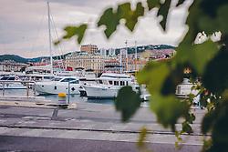 THEMENBILD - Segelboote und Schiffe im Hafen vor der Altstadt von Rijeka, aufgenommen am 13. August 2019 in Rijeka, Kroatien // Sailboats and ships in the harbour in front of the old town of Rijeka, in Rijeka, Croatia on 2019/08/13. EXPA Pictures © 2019, PhotoCredit: EXPA/Stefanie Oberhauser