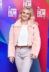 Grace Chatto attending the Benjamin Premiere as part of the BFI London Film Festival at BFI in London.