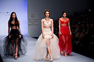 Second day at the Mercedes Benz Fashion Week, Mexico, Spring/Summer 2013. Collections from Bill Keith, Hanif Naim, Royal Closet, Elle Mexico Diseña.
