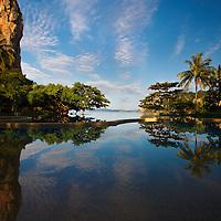 Infinity Pool at Rayavadee Resort, Krabi Thailand