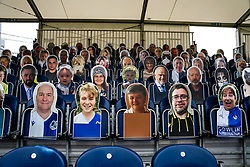 General View of Gas fan cutouts at the Memorial Stadium - Rogan/JMP - 30/11/2020 - FOOTBALL - Memorial Stadium - Bristol, England - Bristol Rovers v Darlington - FA Cup Second Round Proper.