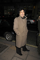 Actor DEEPAK VERMA who plays Sanjay Kappor in Eastenders at the opening of the Atelier Moet pop-up boutique, 70 New Bond Street, London on 3rd December 2008.