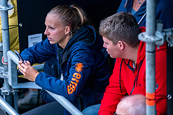 Katja Stam during the first day of the beach volleyball event King of the Court at Jaarbeursplein on September 9, 2020 in Utrecht.