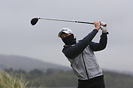 Joshua Hill (Galgorm Castle) on the 6th tee during Round 3 of the Ulster Boys Championship at Donegal Golf Club, Murvagh, Donegal, Co Donegal on Friday 26th April 2019.<br /> Picture:  Thos Caffrey / www.golffile.ie