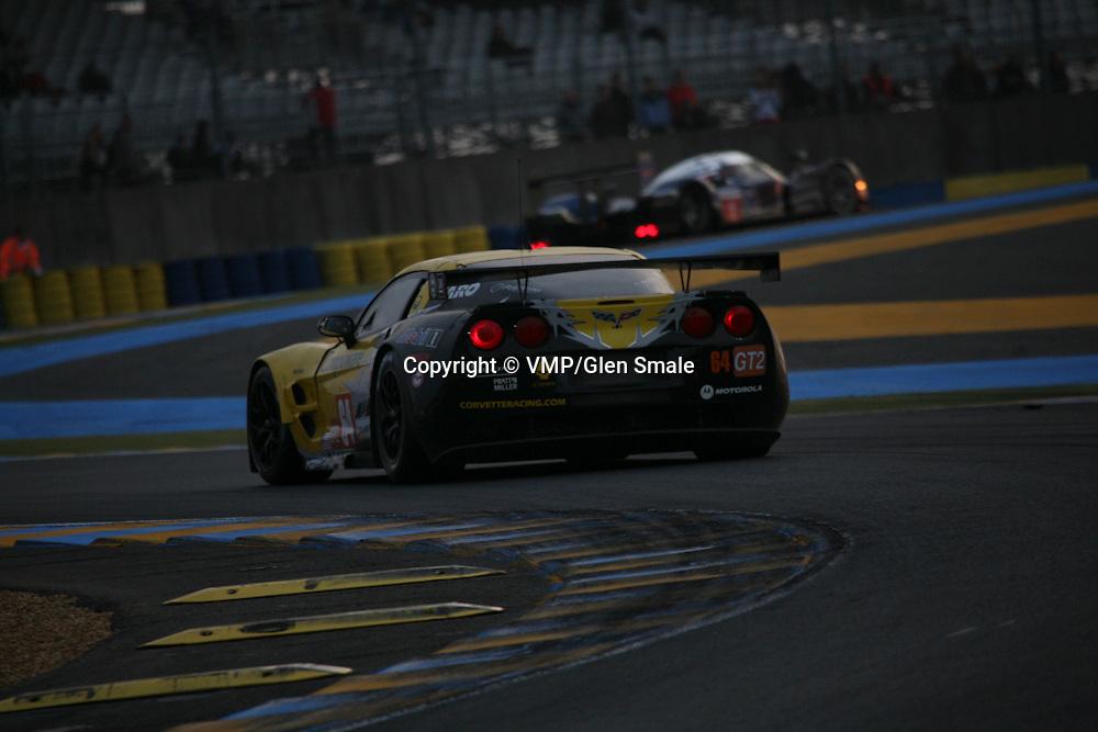 #64 Chevrolet Corvette C6.R - Corvette Racing, LMGT2 Le Mans 24H 2010