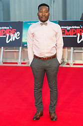 © Licensed to London News Pictures. 23/09/2016. FISAYO AKINADE attends the Swiss Army Man and Imperium film premier's  at the Empire Live gala screening, London, UK. Photo credit: Ray Tang/LNP