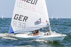, Travemünder Woche 20. - 29.07.2018, Laser Radial - GER 211201 - Maximilian BEHRENS - Offenbacher Ruderverein 1874 e. V. Segelabteilung