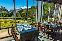 Poppies Restaurant at Jewell Gardens, Skagway, Alaska USA.