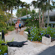 Alligator farm in Everglades National Park