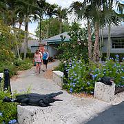 Alligator farm in Everglades National Park
