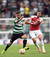 Sporting CP and Arsenal FC - 25 Oct 2018