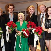 NLD/Amsterdam/20120617 - Premiere Het Geheugen van Water, cast, Tjitske Reidinga, Anneke Blok, Pauline Greidanus, Rick Nicolet, Vincent Croiset en Michiel Nooter