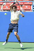 Taylor Fritz at the 2021 Citi Open. Photo by Kyle Gustafson