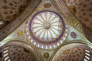 Ceiling of the Sultan Ahmed Mosque (The Blue Mosque)