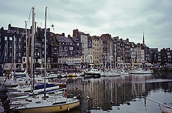 The Old Port At Honfleur