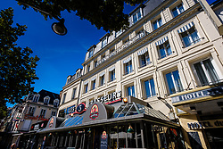 Grand Hotel du Nord in the Place Drouet d'Erlon, Reims, France<br /> <br /> (c) Andrew Wilson | Edinburgh Elite media