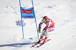 Marcel Hirscher (AUT) competes in 1st Run during Men Giant Slalom race of FIS Alpine Ski World Cup 55th Vitranc Cup 2015, on March 4, 2016 in Kranjska Gora, Slovenia. Photo by Ziga Zupan / Sportida