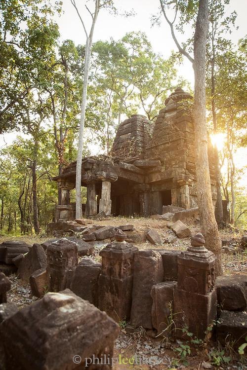 Temple in Satpura National Park in India