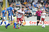 Bradford City forward, and new signing,  Kai Bruenker (21)  during the EFL Sky Bet League 1 match between Rochdale and Bradford City at Spotland, Rochdale, England on 21 April 2018. Picture by Mark Pollitt.