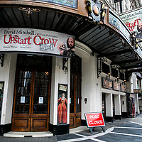 The Upstart Crow,<br />Theatres in lockdown;<br />West End Theatreland, London, UK;<br />7th July 2020.<br />Credit: Pete Jones/arenapal;<br /> www.arenapal.com