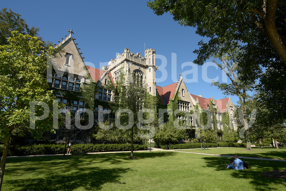 University of Chicago campus in Chicago on Wednesday, Aug. 19, 2020.  Photo by Mark Black