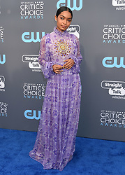 Reese Witherspoon at the 23rd Annual Critics' Choice Awards held at the Barker Hangar on January 11, 2018 in Santa Monica, CA ©Tammie Arroyo/AFF-USA.com. 11 Jan 2018 Pictured: Yara Shahidi. Photo credit: MEGA TheMegaAgency.com +1 888 505 6342