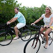 Brian Gay, 2008 champion of the Mayakoba Golf Classic at Riviera Maya-Cancun, a PGA Tour tournament held along the Caribbean in the Riviera Maya, enjoys time with his wife, Kimberly, at the Fairmont Mayakoba hotel and resort.