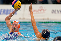 Ilse Koolhaas #10 of Netherlands in action during the friendly match Netherlands vs USA on February 19, 2020 in Amerena Amersfoort.