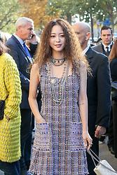 Ye Seul Han bei der Chanel Modenschau während der Paris Fashion Week / 041016<br /> <br /> ***Chanel fashion show as part of Paris Fashion Week on october 04, 2016 in Paris***