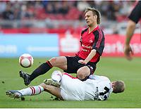 v.l. Dominik Reinhardt, Thomas Hitzlsperger<br />Bundesliga VfB Stuttgart - 1. FC Nuernberg