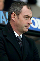 Football - 2016 / 2017 Premier League - Swansea City vs. Arsenal<br /> <br /> Swansea City manager Paul Clement head shot , at the Liberty Stadium.<br /> <br /> COLORSPORT/WINSTON BYNORTH
