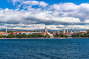 Old Town Zadar from the Adriatic, Dalmatian Coast, Croatia