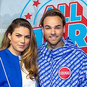 NLD/Rotterdam/20181014 - Iinloop premiere All Stars, Lisa Michels en ......