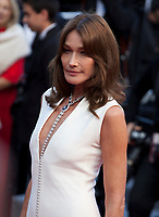 Carla Bruni at the Le Grand Bain (Sink Or Swim) gala screening at the 71st Cannes Film Festival, Sunday 13th May 2018, Cannes, France. Photo credit: Doreen Kennedy