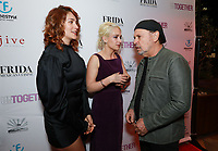 Lola Kirke, Jemima Kirke and Billy Crystal at Los Angeles Premiere Of 'Untogether' held at Frida Restaurant on February 08, 2019 in Sherman Oaks, California, United States (Photo by JC Olivera)