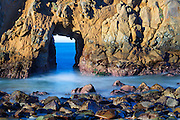 Keyhole Arch Big Sur California